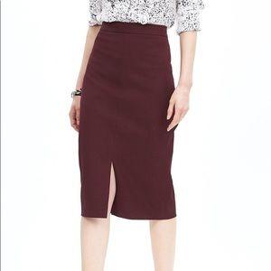 NWT Banana Republic Sloan Pencil Skirt